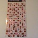 Sticko Valentine Mini Hearts Craft Scrapbook Stickers