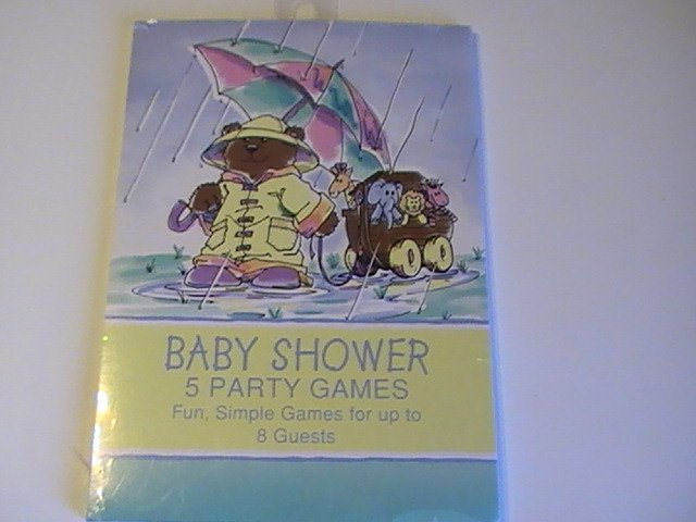 Creative Expressions Noahs Ark Baby Shower Party Games
