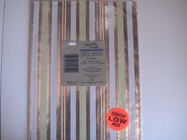 Gibson Cards Gift Wrapping Paper