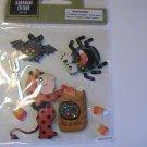 Halloween Harvest Handmade Scrapbook Stickers