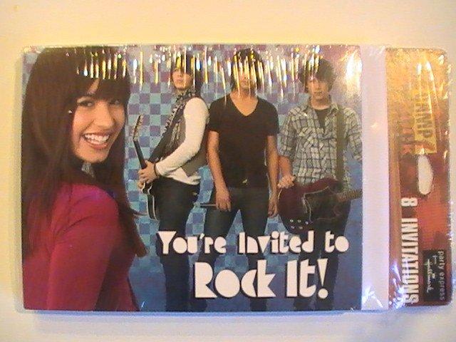 Hallmark Camp Rock Party Invitation Cards