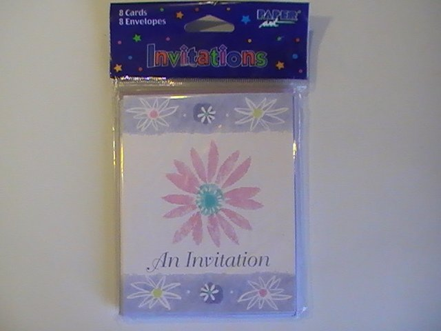 Paper Art Creative Expressions Invitation Cards