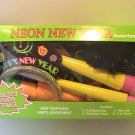 Neon New Year's Eve Party Assortment For 10 People