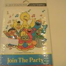 Contempo Sesame Street Party Invitation Cards