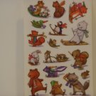 American Greetings Animal Winter Fun Craft Stickers (5 Sheets)