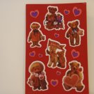 American Greetings Bear Love Craft Stickers (4 Sheets)