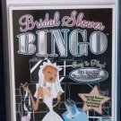 Bridal Shower Bingo Invitation Cards & Game