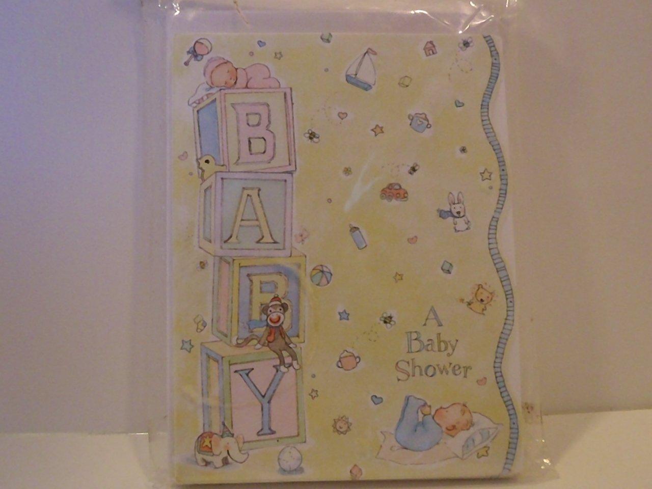 Hallmark BABY SHOWER Party Invitation Cards