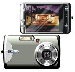 """Vista 8.0MP Digital Camera, 3.0"""" LCD"""