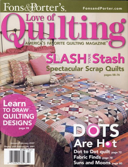 Fons & Porter's Love of Quilting 2007 Magazine