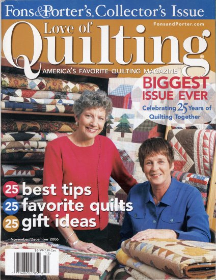 Fons & Porter's Love of Quilting Collector's Issue 2006 Magazine