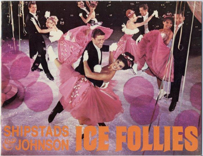 "Vintage 60s ""Shipstads & Johnson Ice Follies"" Program Book Memorabilia Souvenir"