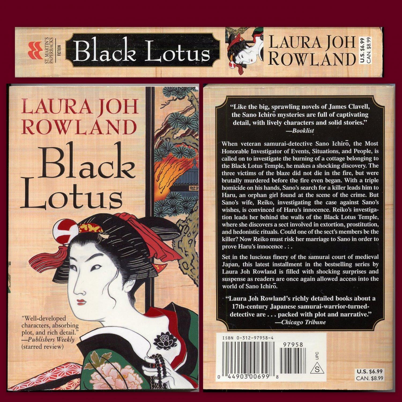 Black Lotus (PB) Laura Joh Rowland Feudal Japan History Culture