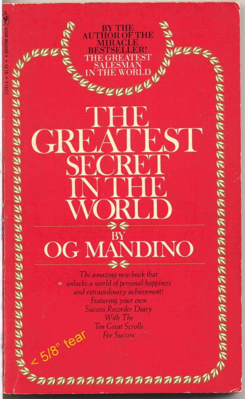The Greatest Secret In The World (PB) Og Mandino Religion Inspiration