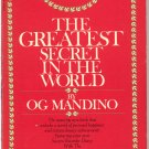 The Greatest Secret In The World (PB) Og Mandino Religion Inspiration
