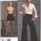 Vogue 1035 Alice + Olivia Shorts Pants Designer Sewing Pattern Misses' 14 16 18 20 22 Wide Leg Retro