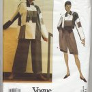 Vogue 1179 Issey Miyake Top Tunic Shorts Pants Designer Sewing Pattern Misses' 10 Uncut & FF