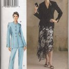 Vogue 8047 Jacket Skirt Pants Sewing Pattern Misses' 20 22 24 The Vogue Woman Dressy Sunday Best