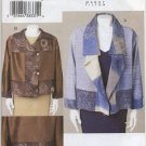 Vogue 7907 Jacket CORRECTED Sewing Pattern by Marcy Tilton Misses' 16 18 20 22 Loose Fit Unlined