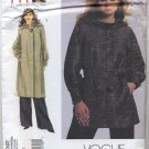 "Vogue 1097 Coat Sandra Betzina Sewing Pattern Misses' OSZ: A-J (Bust 32""-55"") Raglan Hood"