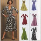 Vogue 8489 Dress Easy Options Sewing Pattern Misses' 18 20 22 24 Casual Elegant Office