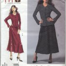 "Vogue 2911 Blouse Skirt Sandra Betzina Sewing Pattern Misses' OSZ: A-J Bust 32""-55"" Peplum Dressy"
