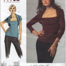 "Vogue 2980 Tops Sandra Betzina Sewing Pattern Misses' OSZ: A-J Bust 32""-55"" Office Evening Knits"