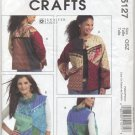 McCall's 5127 Lined Jacket & Vest Jennifer Lokey Sewing Pattern Misses' 6 8 10 12 14 16 18 20 22