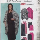 McCall's 5061 Unlined Jacket Top Dress Skirt Pants Easy Sewing Pattern Women's 26W 28W 30W 32W
