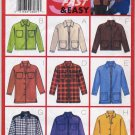 Butterick 5151 Oversized Jackets Very Easy Sewing Pattern Misses' 8 10 12 Nine Variations