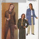Butterick 3980 Jacket Skirt & Pants Easy Sewing Pattern Women's 28W 30W 32W A-Line Skirt