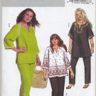 Butterick 4753 Pullover Tunic/Top Pants Sewing Pattern Women's 26W 28W 30W 32W Travel / Play Clothes