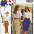 Butterick 4869 Skirt - Very Easy Sewing Pattern - Misses' 12 14 16 - Semi-fitted in 3 Lengths