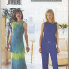 Butterick 6061 Jessica Howard Tunic Skirt & Pants Sewing Pattern Misses' 20 22 24 Summer Casual Chic