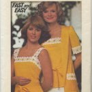 Butterick 4183 Cardigan & Camisole Sewing Pattern Misses' 12 Quintessential Vintage 70s