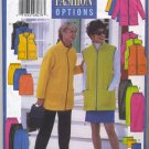 Butterick 5150 Unlined Jacket or Vest Skirt Pants & Tube Sewing Pattern Misses' 8 10 12