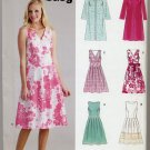 New Look 6616 Dress & Coat Easy Sewing Pattern Misses' 8 10 12 14 16 18 Summer Special Occasion