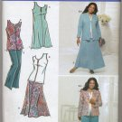 Simplicity 3805 Top, Skirt, Pants and Jacket Sewing Pattern Women's 20W 22W 24W 26W 28W Khaliah Ali