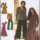 Simplicity 3699 Tops, Dress, Skirt and Pants Sewing Pattern Women's 26W 28W 30W 32W Khaliah Ali