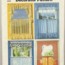 Simplicity 5494 - Set of Curtains - Decorator Sewing Pattern - One Size - Vintage 70s Kitchen Look