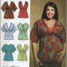 Simplicity 3893 Knit or Woven Tops - - Sewing Pattern Women's 20W 22W 24W 26W 28W Khaliah Ali