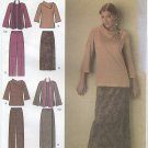Simplicity 4886 Top Pants Skirt & Scarf - Sewing Pattern Women's 20W-28W Cozy Winter Chic