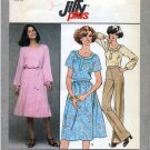 "Simplicity 8412 Pullover Dress Top & Skirt Sewing Pattern Miss Size 10 Bust 32-1/2"" Easy Classic 70s"