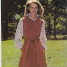 """See & Sew 5843 - - Semi-fitted Jumper - - Easy Sewing Pattern - - Misses' 12 Bust 34"""""""
