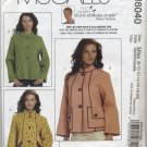McCall's 6040 Nancy Zieman Unlined Jackets - Sewing Pattern Misses' 8 10 12 14 16 18 20
