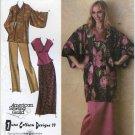 Simplicity 4291 June Colburn Sewing Pattern Misses' 14 16 18 20 22 24 26  Kimono Top Pants Skirt