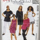 McCall's 8266 Dresses, Tops, Pants & Shorts - - Easy Sewing Pattern Women's 22W 24W 26W