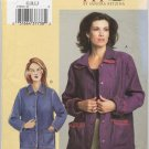 Vogue 7855 Partially Lined Jacket - A Sandra Betzina Sewing Pattern - Misses' G H I J Bust 46-55