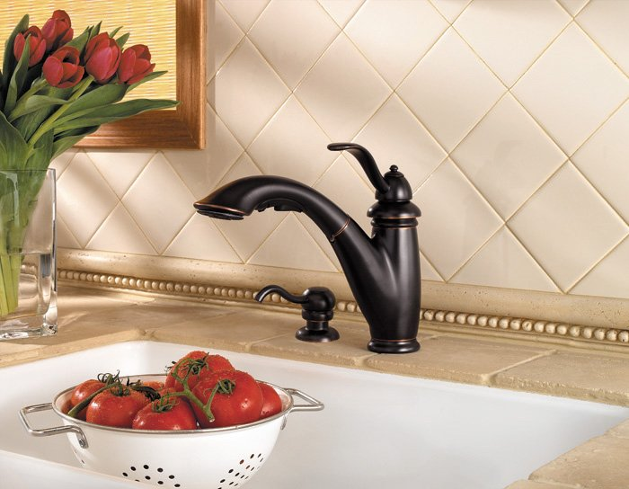 Price Pfister Marielle Pull-Out Kitchen Faucet 532-7PYY