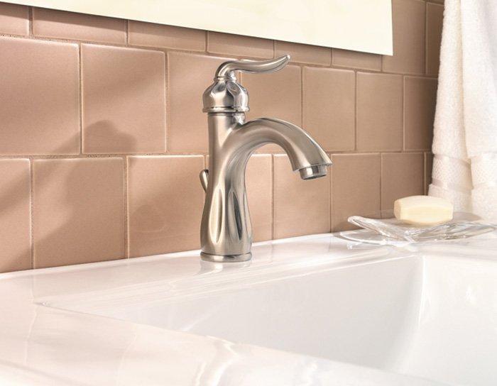 Price Pfister 042-LT0K Sedona Lavatory Faucet Satin Nickel